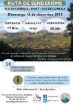 Ruta Guiada de Senderismo - 15 de Diciembre de 2013